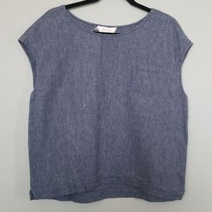 Two by Vince Camuto boxy top size large